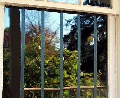 Bird Safety Window Treatments Madrone Audubon Society - Window decals for bird safety